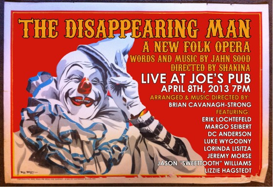 Disappearing Flyer CLOWN JOES